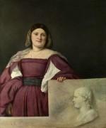 Портрет дамы - Тициан Вечеллио