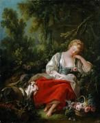 Спящая пастушка - Буше, Франсуа