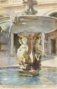 Испанский фонтан - Сарджент, Джон Сингер