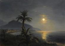 Берег моря в лунную ночь - Айвазовский, Иван Константинович