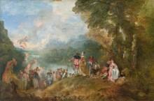 Паломничество на остров Киферу - Ватто, Жан Антуан