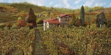 Виноградник в Тоскане - Борелли, Гвидо (20 век)