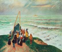 Возвращение моряков, Бретань - Море, Анри