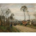 Дорога из Лувесьенна, 1870 - Писсарро, Камиль