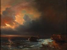 Потерпевшие кораблекрушение на берегу моря - Гюден, Теодор