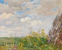 Цветы на краю луга - Гужавин, Михаил Маркелович