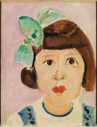 Портрет девочки - Матисс, Анри