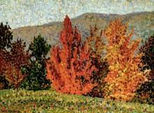 Осенний пейзаж - Кросс, Анри Эдмон