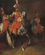 Конный трубач Имперской гвардии - Жерико, Теодор Жан Луи Андре