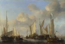Голландские яхты - Велде, Виллем ван де (Младший)