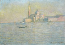 Сан-Джорджо Маджоре (остров), 1908 - Моне, Клод