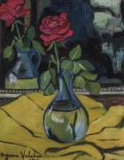 Роза в стеклянной вазе - Валадон, Сюзанна