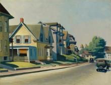 Солнце на широкой улице - Хоппер, Эдвард