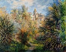 Сад  Морено в Бордигере, 1884 - Моне, Клод