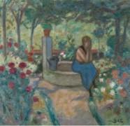 Молодая девушка у колодца - д'Эспанья, Жорж