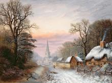 Зимний пейзаж - Ливер, Чарльз