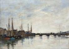 Мост на реке Тук, Довиль - Буден, Эжен