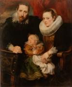 Семейный портрет - Дейк, Антонис Ван