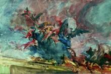 """Проект украшения """"Ди Парте дель Софитто"""" Тьеполо, 1910 - Больдини, Джованни"""
