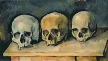 Три черепа - Сезанн, Поль