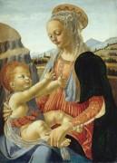 Мадонна с Младенцем - Вероккьо, Андреа