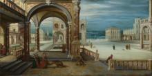 Двор дворца Возрождения - Стенвейк, Хендрик ван (младший)