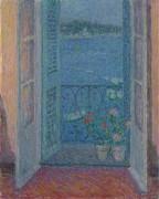 Окно в сумерках, Вильфранш-сюр-Мер, 1926 - Сиданэ, Анри Эжен Огюстен Ле