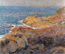 Море, скалы, 1920 - Смет, Леон де