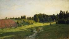 Вечерние тени. 1891-94 - Левитан, Исаак Ильич