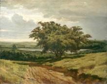У дороги, 1874 - Шишкин, Иван Иванович