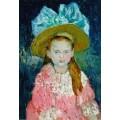 Девочка в большой шляпе - Пикассо, Пабло