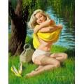 Девушка на озере - Сарноф, Артур