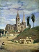 Кафедральный собор в Шартре - Коро, Жан-Батист Камиль