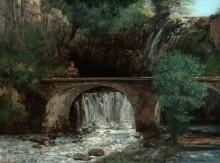 Большой мост - Курбе, Гюстав