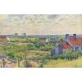 Пейзаж с домами, 1894 - Рейссельберге, Тео ван