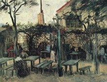 Терраса кафе на Монтмартре (Terrace of a Cafe on Montmartre), 1886 - Гог, Винсент ван