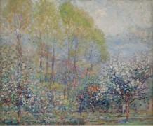 Весна в Живерни, 1909-11 -  Бюхр, Карл Альберт