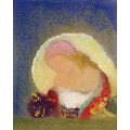 Девушка с цветами - Редон, Одилон