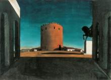 Красная башня - Кирико, Джорджо де