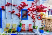 Яркие краски Греции - Сток