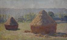 Стога сена в конце лета, 1890 - Моне, Клод