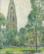 Башня с часами, Харкнесс Мемориал, 1930 -  Уиггинс, Гай Кэрлтон