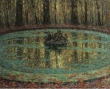 Бассейн с  ряской, 1916 - Сиданэ, Анри Эжен Огюстен Ле