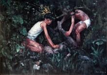 Зеленый манго - Цзин, Жэнь (20 век)