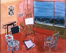 Мастерская художника в Вансе - Дюфи, Рауль
