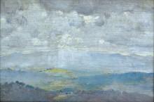 Пейзаж с облаками, 1923 - Робертс, Том