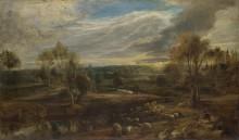 Пейзаж с пастухом и его стадом -  Рубенс, Питер Пауль