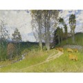 Склон пастбища (Pasture`s Slop) - Монтезин, Пьер Эжен
