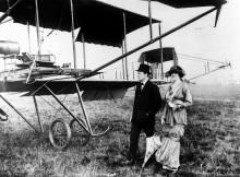 Уинстон Черчилль с женой Клементиной