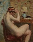 Сидящая голая женщина, 1920s - д'Эспанья, Жорж